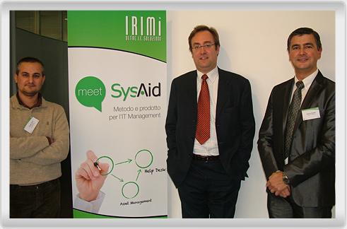 Cristiano Papa, Luca Padovano and Stefano