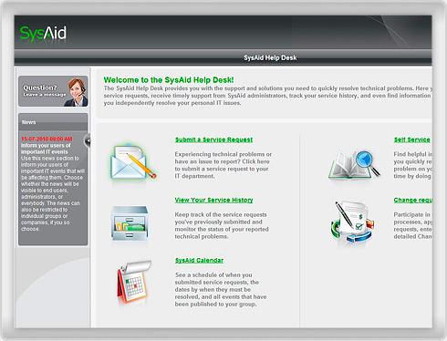 Calendar in End User Portal