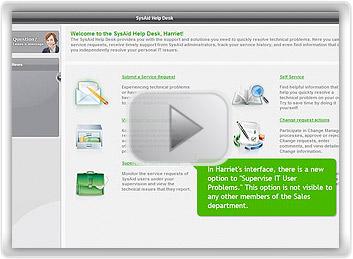 Creating End-User Supervisors screenshot