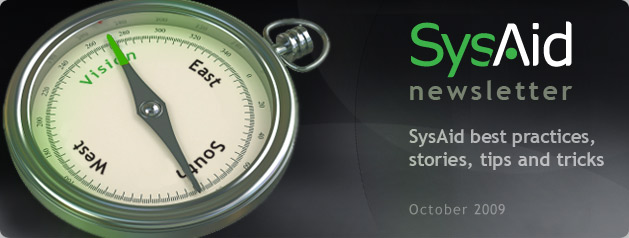 SysAid October Newsletter