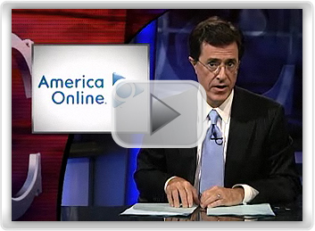 November Joke Screenshot - Protecting your Online Identity with Stephen Colbert