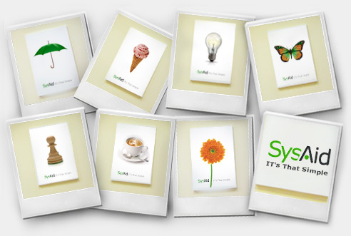 New SysAid Posters