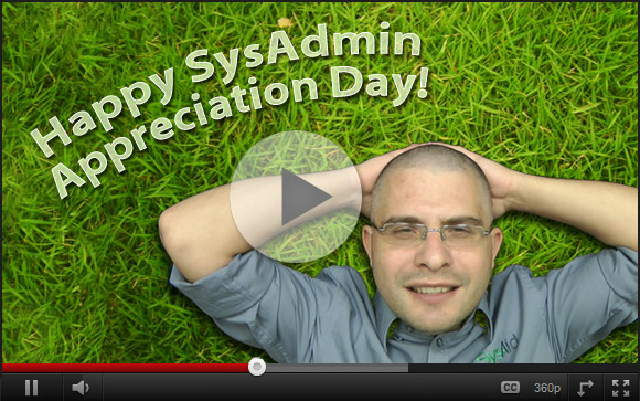 SysAid's SysAdmin Day Song